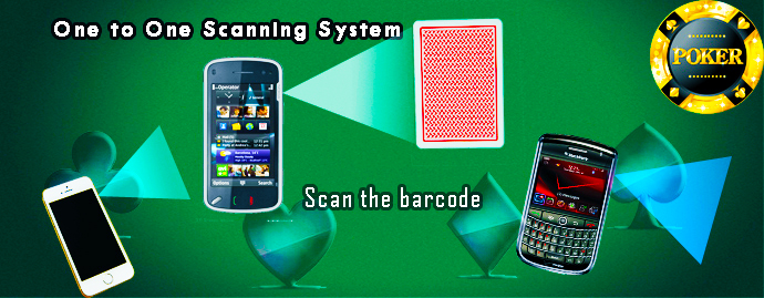 Poker Camera Scanner For Barcode Marked Cards