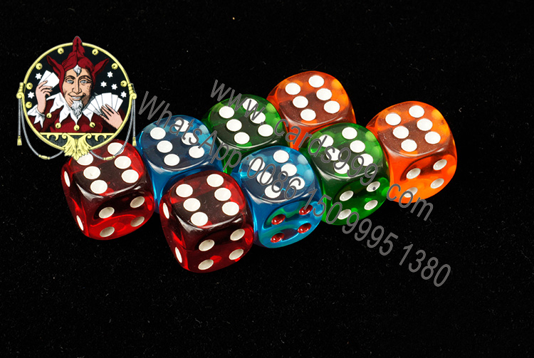 Transparent Loaded Dice Probability