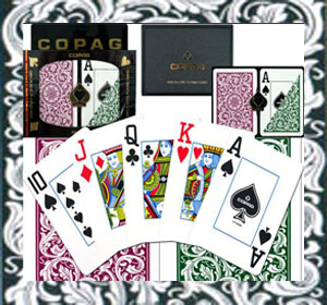 Copag contact lenses playing cards