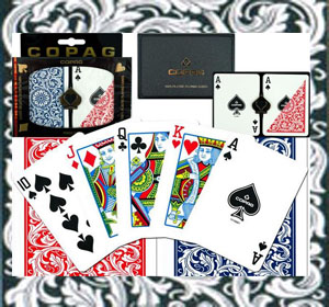 Copag plastic marked playing cards for sale