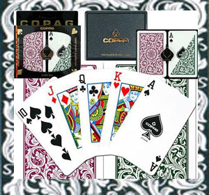 Magic tricks with marked cards Copag