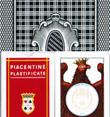 DALNEGRO piacentine marked cards