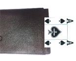 Purse for exchanging cards