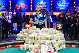 The Lucky Champion of WSOP, Martin Jacobson