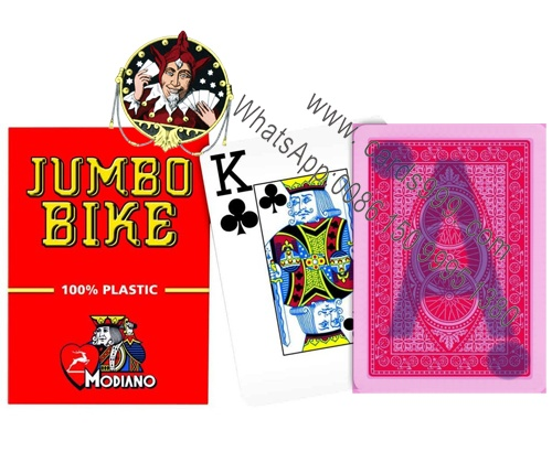 Modinao Jumbo Bike invisible ink playing cards