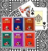 Modiano Texas Holdem marked cards magic