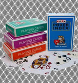 Buy Modiano poker index marked playing cards