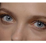 blue eyes contact lenses to see marked cards