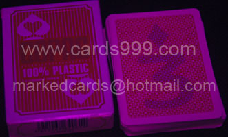 Copag 100 plastic luminous ink marked cards
