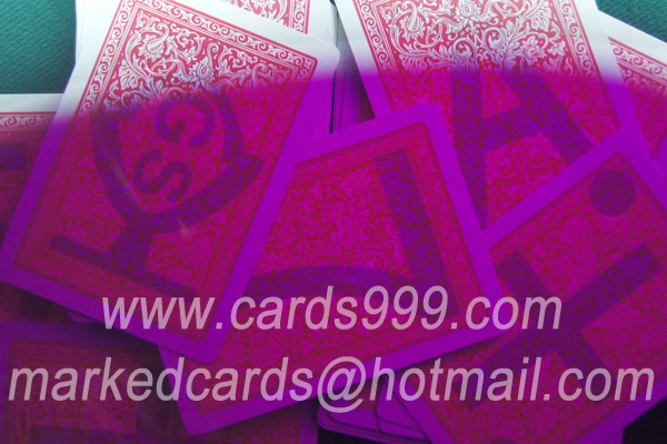 Fournier 2818 infrared marked cards
