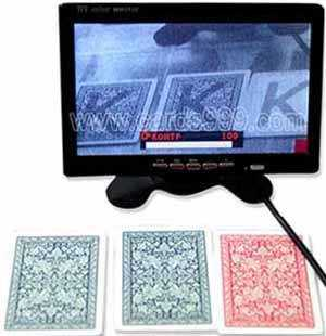 Infrared marked cards