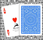Modiano club poker marked playing cards