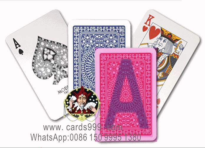Modiano club bridge playing cards magic trick
