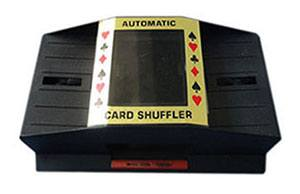Cards Shuffler scanner camera