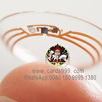 x-ray marked cards contact lenses